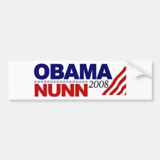 Obama Nunn 2008 Bumper Sticker