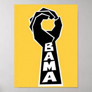 OBAMA O for Obama Print