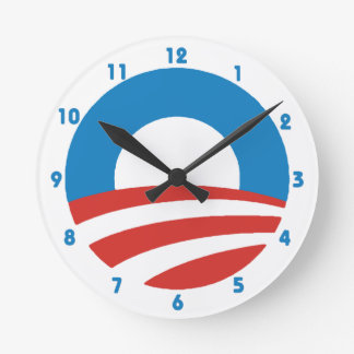 Obama 'O' Logo Wall Clock