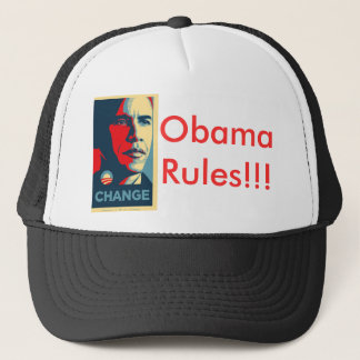 Obama, Obama Rules!!! Trucker Hat