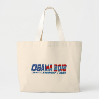 Obama Obamateer 2012 Gear Large Tote Bag