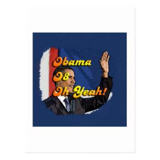Obama Oh Yeah Postcard