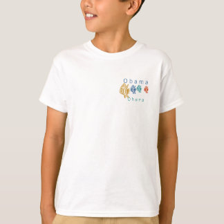 Obama Ohana (Hawaiian 'family') fish kids tee