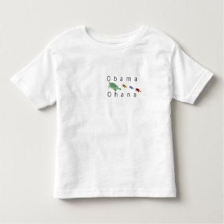 Obama Ohana (Hawaiian 'family') turtles kids Toddler T-shirt