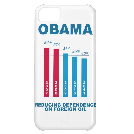 Obama Oil Independence Graph iPhone 5C Cases
