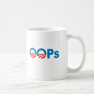 Obama oops coffee mug