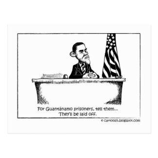 Obama Orders Guantanamo to Close Postcard