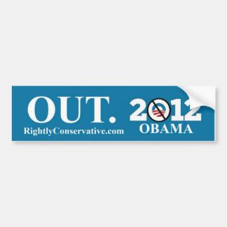 Obama OUT! 2012 Bumper Sticker