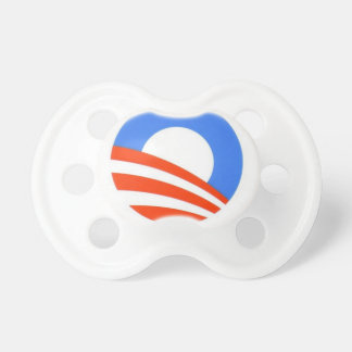 Obama Pacifier for age 6+ months, Baby says it all