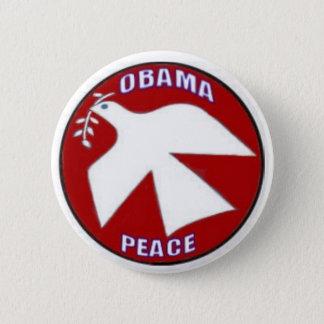 Obama Peace Dove Button