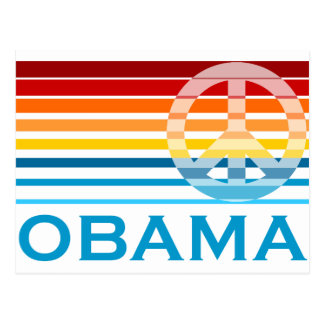 Obama Peace Postcard