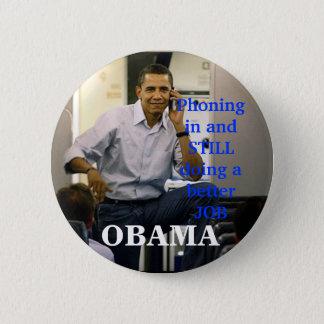 obama phone, OBAMA, 2 Inch Round Button