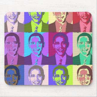 Obama Pop Art 1 Mouse Pad