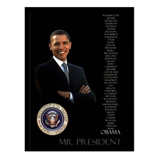Obama Postcard