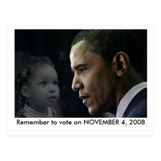 Obama Postcard - Ashley