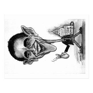 Obama Postcard-caricature Postcard
