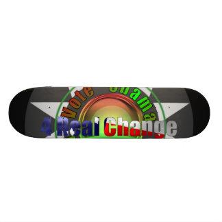 Obama pour le président skateboards customisés