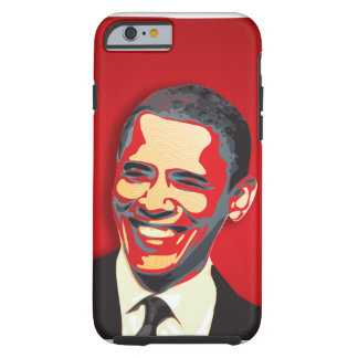 Obama Presidential Election Red Tough iPhone 6 Case