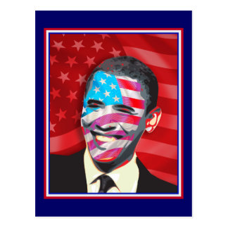 obama - Presidential Smile Postcard