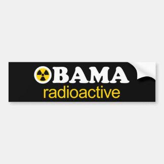 Obama Radioactive Bumper Sticker