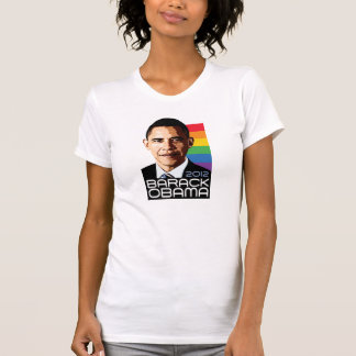 Obama Rainbow Pride T-Shirt