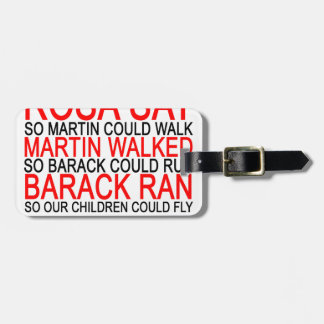 Obama ran so our children can fly M.png Luggage Tag
