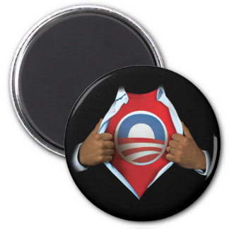 Obama Reveal 2 Inch Round Magnet