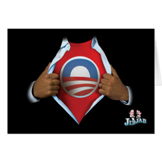 Obama Reveal Greeting Card