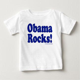 Obama Rocks Baby T-Shirt