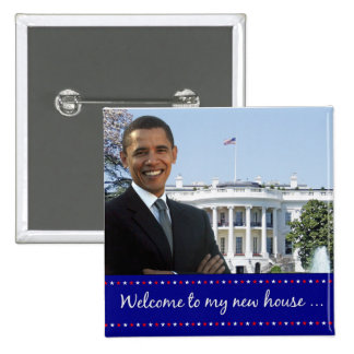Obama s New House - Square Button