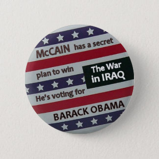 Obama Secret Plan Button