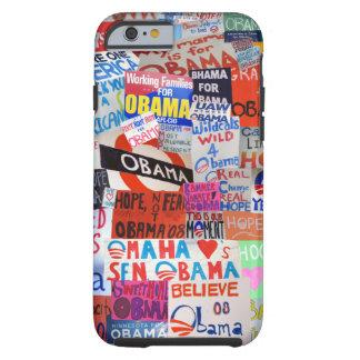 Obama Sign Collage iPhone 6 case Tough iPhone 6 Case