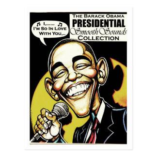 Obama Sings! (2012) Postcard
