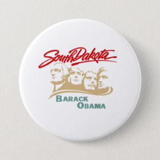 Obama South Dakota Button