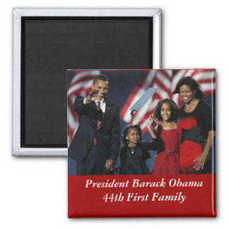 Obama Souvenir Square Magnet
