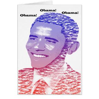 Obama Spirit Card