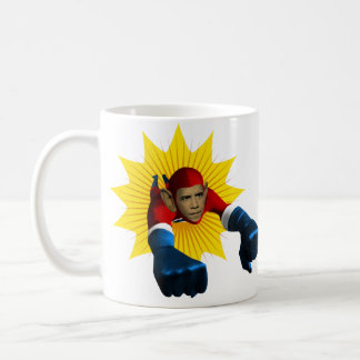 Obama Starburst Classic White Coffee Mug