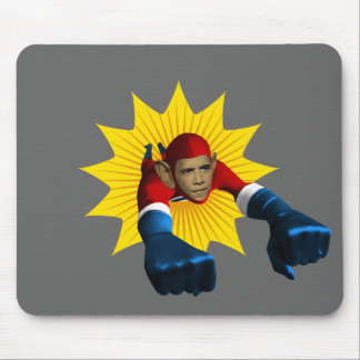 Obama Starburst Mouse Pad
