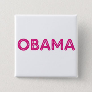 Obama Starry Lights Button