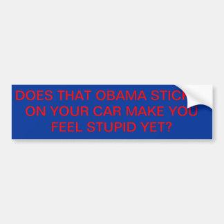 Obama Sticker Bumper Sticker