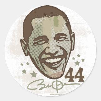 obama Stylish President 44 Stickers