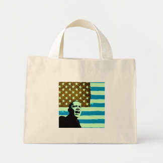 Obama Stylized US Flag Bag
