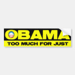 Obama Sucks Part 1 Car Bumper Sticker