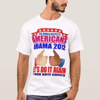 Obama T-Shirt: 2012 Obama - Respect T-Shirt