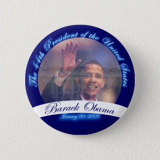 Obama: The 44th President Inauguration Button