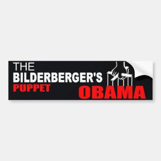 Obama - The Bilderberger's Puppet Bumper Sticker