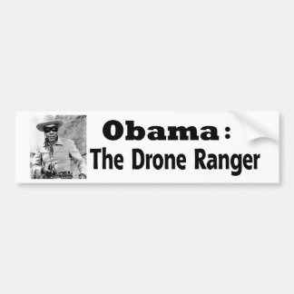 Obama: The Drone Ranger Bumper Sticker