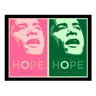 Obama 'The New Hope' Postcard