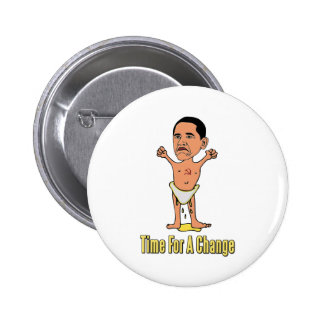 Obama Time For A Change 2 Inch Round Button