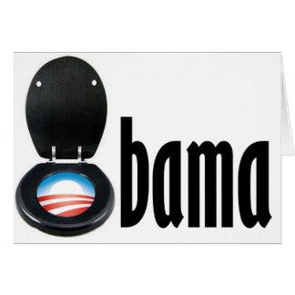Obama (toilet) card